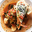 A photo of a Cioppino entree at the Shoals Restaurant.